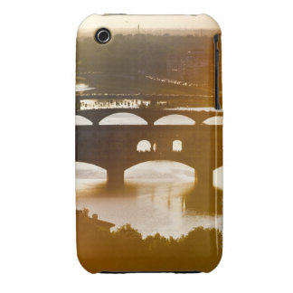 Italy, Florence, Ponte Vecchio and River Arno at iPhone 3 Case-Mate Case