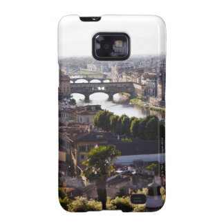 Italy, Florence, Ponte Vecchio and River Arno Samsung Galaxy SII Cover