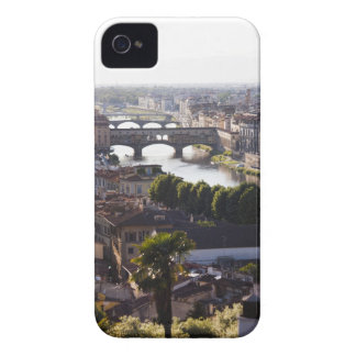 Italy, Florence, Ponte Vecchio and River Arno Case-Mate iPhone 4 Cases