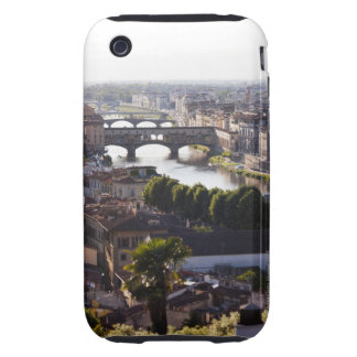 Italy, Florence, Ponte Vecchio and River Arno iPhone 3 Tough Cover