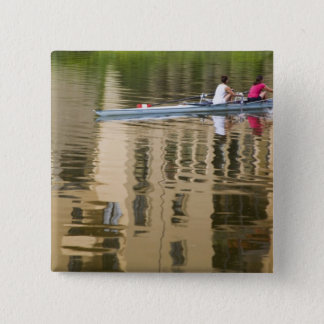 Italy, Florence, Rowing Sculls with 2 Button