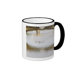 Italy, Florence, Rowing Sculls with Ringer Coffee Mug