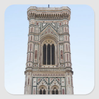 Italy, Florence, Tower in old town Square Sticker