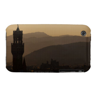Italy, Florence, Towers in city at dusk iPhone 3 Cover