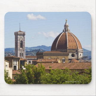 Italy, Florence, View of Florence Cathedral Mouse Pad