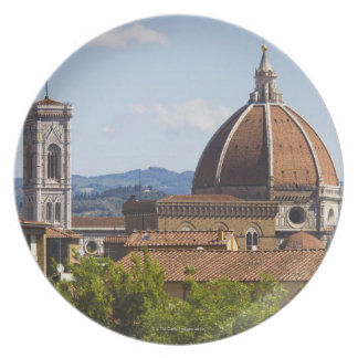 Italy, Florence, View of Florence Cathedral Plate