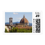 Italy, Florence, View of Florence Cathedral Postage Stamps