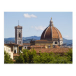 Italy, Florence, View of Florence Cathedral Postcard