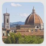 Italy, Florence, View of Florence Cathedral Square Stickers