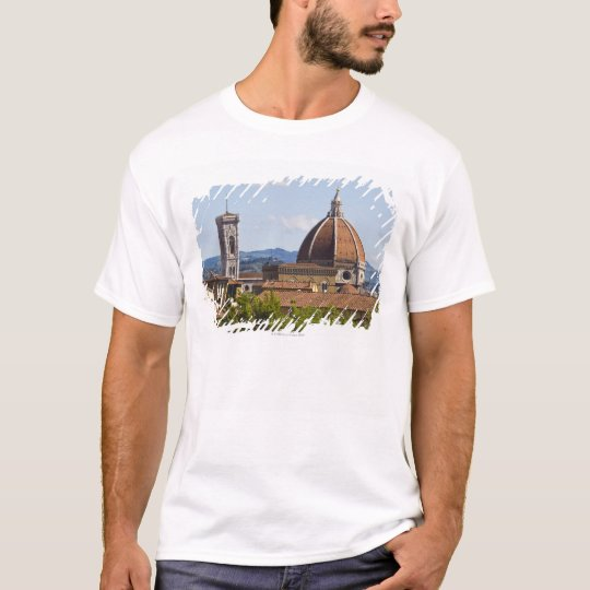 Italy, Florence, View of Florence Cathedral T-Shirt