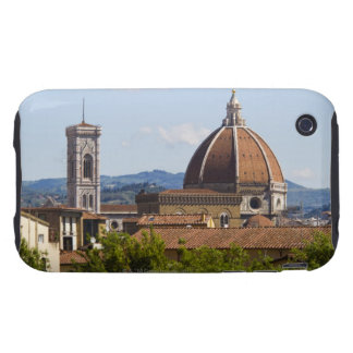Italy, Florence, View of Florence Cathedral Tough iPhone 3 Case