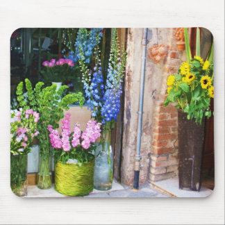 Italy -  Flower Market - SUNFLOWERS Mouse Pad