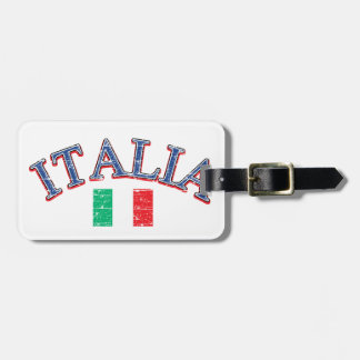 Italy football design tag for luggage