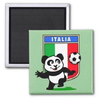Italy Football Panda Refrigerator Magnet