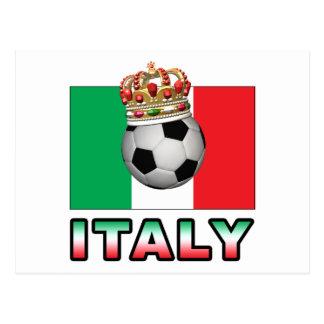 Italy Football Postcard