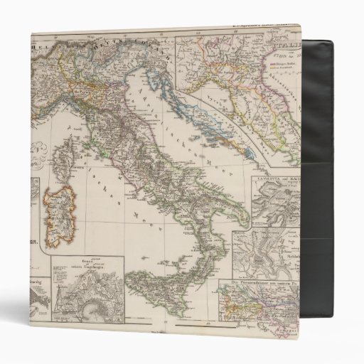 Italy from 1450 to 1792 3 ring binder