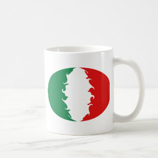 Italy Gnarly Flag Mug
