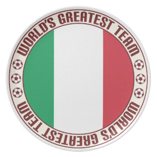 Italy Greatest Team Party Plates