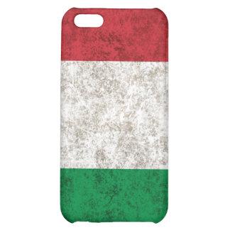 Italy Grunge Flag iPhone 4 iPhone 5C Cases
