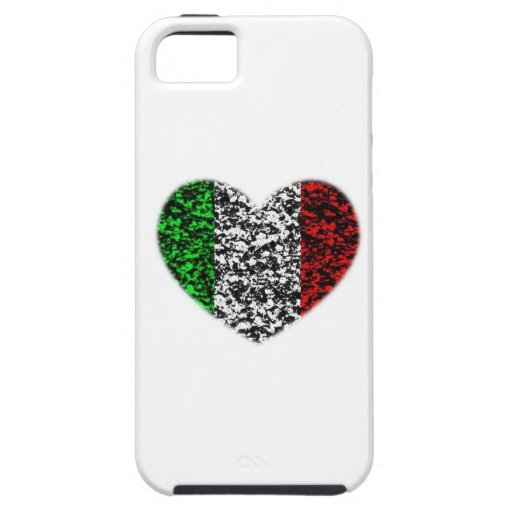 Italy Heart iPhone 5 Cases