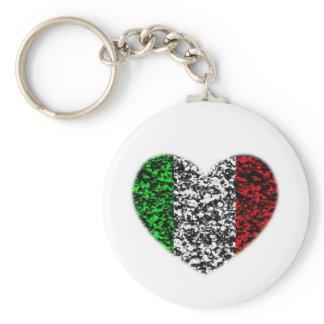 Italy Heart Keychain
