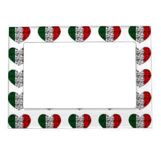 Italy Heart Magnetic Picture Frame