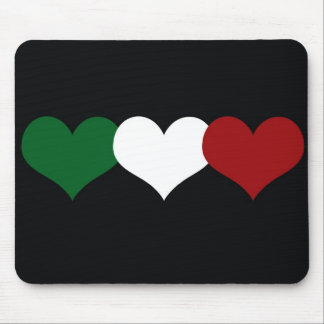 Italy Heart Mouse Pad