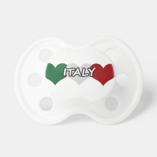 Italy Heart Pacifier