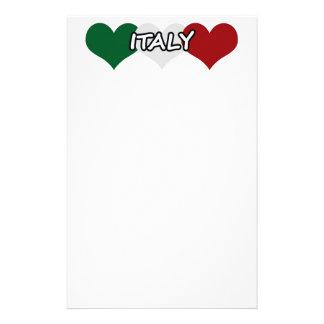 Italy Heart Stationery
