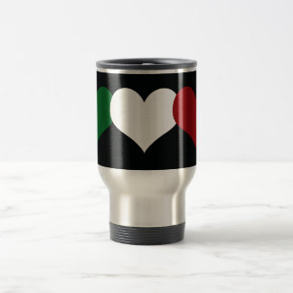 Italy Heart Travel Mug