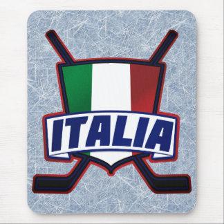 Italy Hockey su Ghiaccio Mouse Pad