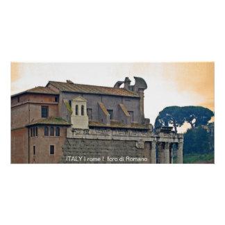 ITALY I rome I foro di Romano Card