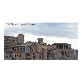 ITALY I rome I foro di Traiano Customized Photo Card