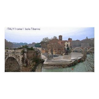 ITALY I rome I Isola Tiberina Card