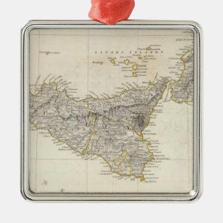Italy III Metal Ornament