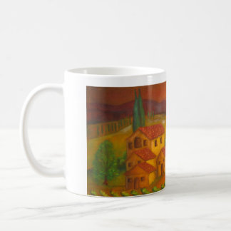 Italy, In Chianti, Hilltown Coffee Mug