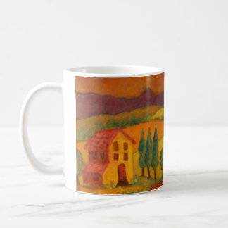 Italy, In Chianti, Little house in the Country Coffee Mug