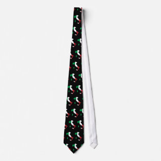 Italy in Italian Colors Tiled Neck Tie