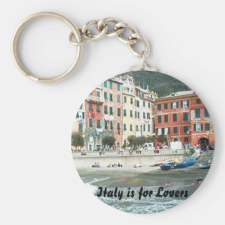 Italy is for Lovers Keychain