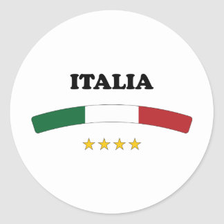 Italy / Italia Classic Round Sticker