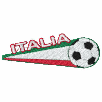 Italy italia Embroidered stripes and ball Track Jacket
