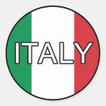 Italy Italia Euro Sticker