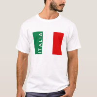 italy italia flag country text name T-Shirt