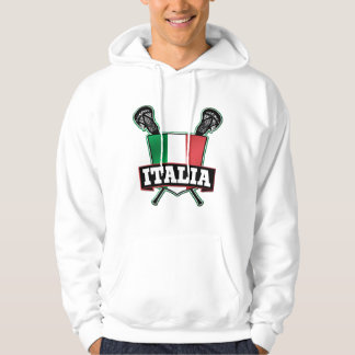 Italy Italia Lacrosse Hoodie