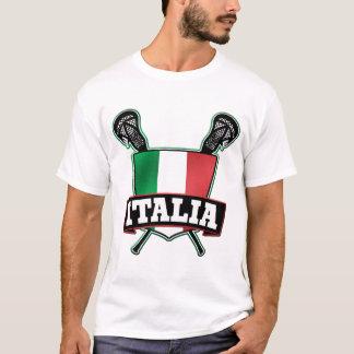 Italy Italia Lacrosse T-Shirt