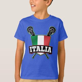 Italy Italia Lacrosse Tee