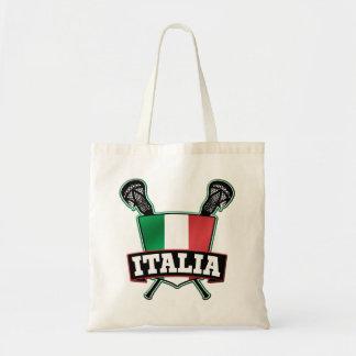 Italy Italia Lacrosse Tote Bag