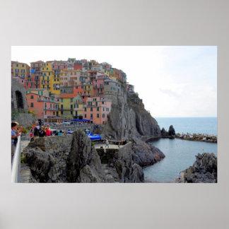 Italy, Italia, Liguria, Riviera di Levante Posters
