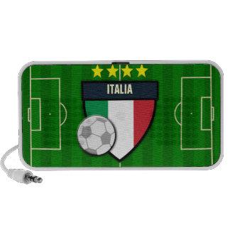 Italy Italia Soccer Flag Football Portable Speaker