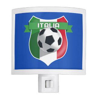 Italy Italia Soccer Futbol Night Light